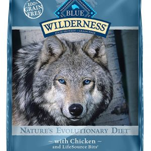 BLUE Wilderness High Protein Dog Food 24lb