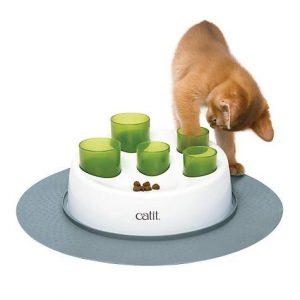 Bergan Star Chaser Turbo Scratcher Cat Toy, 15.5″ Diameter