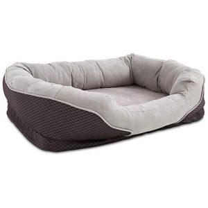 Orthopedic Peaceful Nester Gray Dog Bed