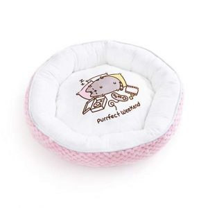 Pusheen Purrfect Weekend Plush Pink Cat Bed