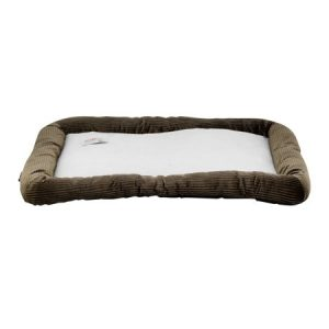 ASPCA Extra Large Plush Crate Mat Pet Bed, 42″ X 27″, Brown