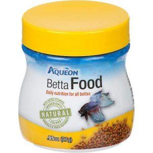 Aqueon Betta Pellets Betta Food, .95 oz
