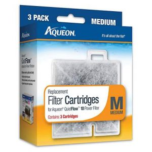 Aqueon Replacement Filter Cartridges, Medium, Pack of 3