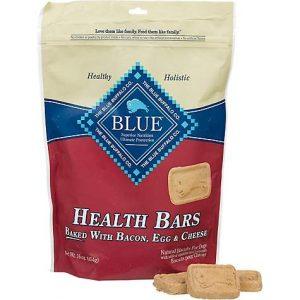 Blue Buffalo Blue Health Bars With Bacon, Egg & Cheese Dog Treats, 16 oz.