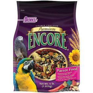 Brown's Encore Premium Parrot Food