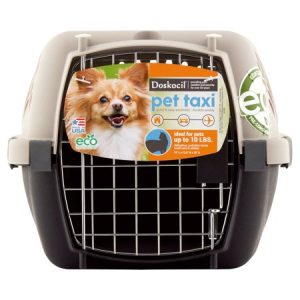 Doskocil Pet Taxi 19″ Pet Carrier, Extra Small, Beige