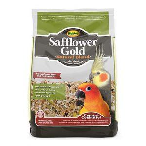 Higgins Safflower Gold – Conure/Cockatiel, 3 lb