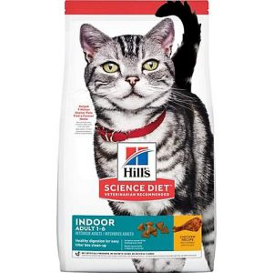 Hill's Science Diet Adult Indoor Chicken Recipe Dry Cat Food, 15.5 lbs.