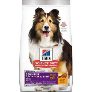 Hill's Science Diet Adult Sensitive Stomach & Skin Chicken Recipe Dry Dog Food, 30 lbs.