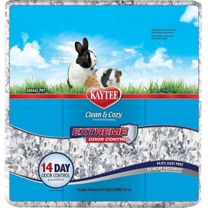 Kaytee Clean and Cozy Extreme Odor Control Bedding, 65 liters 3965 cu.in.