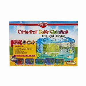 Kaytee CritterTrail LED Color Changing Habitat