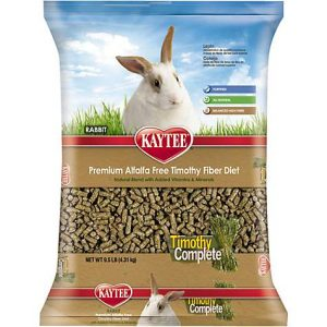 Kaytee Timothy Complete Rabbit Food, 9.5 lbs.