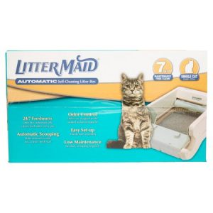 Littermaid Single Cat Self-Cleaning Cat Litter Box, Regular