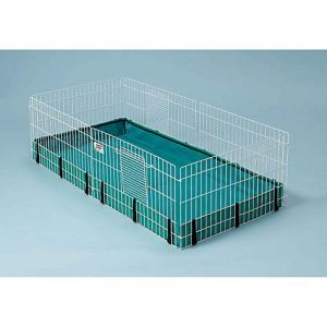 Midwest Guinea Habitat Guinea Pig Cage, 47″ L X 24″ W X 14″ H By: Midwest