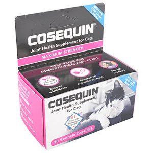 Nutramax Cosequin Original Joint Health Sprinkle Capsules Cat Supplement, 30 count