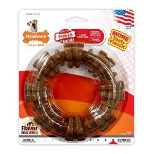 Nylabone Dura Chew Plus Textured Ring Dog Chew
