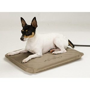 K&H Lectro Soft Outdoor Heated Pet Bed with Cover – Small