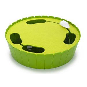Penn Plax Cat Life Hide and Seek Electronic Mouse Cat Toy