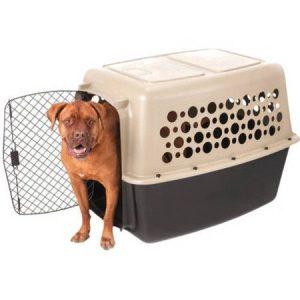 Pet Champion XXL 40″ Pet Carrier, Brown/Black
