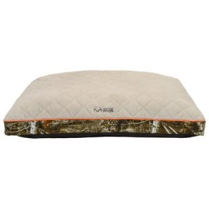 Soft Spot 30″ x 40″ Deluxe Gusseted Camo Pet Bed